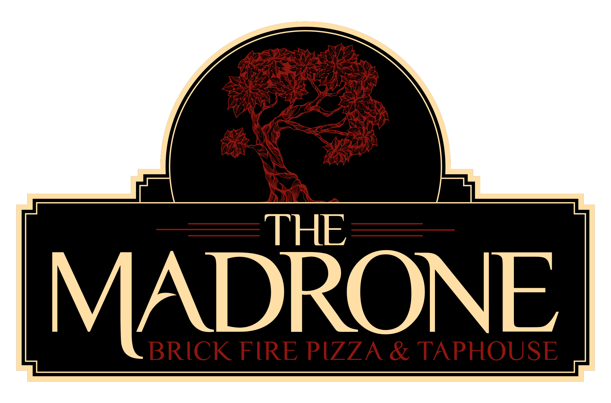 The Madrone Logo Black